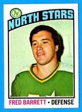 1976-77 Topps FRED BARRETT (ex) Minnesota North Stars