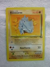 Carte pokémon rhinocorne 61/64 commune jungle
