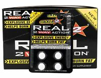 Stacker Real 2 Way Action 96 Tabs 24pks x 4 Tabs Energy Supplement Exp 12/2020
