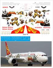 1/144 PAS-DECALS. ZVEZDA. BOEING 787-900 Kung Fu Panda
