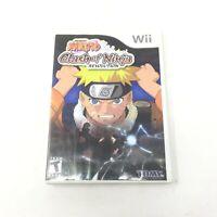 Naruto: Clash of Ninja Revolution Nintendo Wii - Tested Working