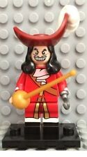New Lego Captain Hook Minifigure with Sword - from 71012 Disney Series