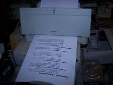 Japanese Apple Macintosh Stylewriter II Printer with new cartridge installed