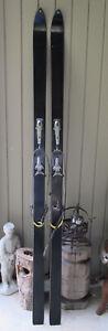 Vintage Head Standard  snow Skis  look Nevada Bindings 195cm  decor