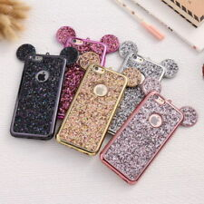 Glitter for Samsung Disney Theme Mickey Minnie Mouse Ears Case Cover Bling