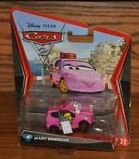 Disney Pixar Cars 2 Die Cast #49 Mary Esgocar Casino Waitress 1:55 scale NEW