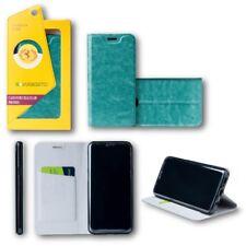 pour Huawei P20 Clapet / Smart Cover Bleu coque étui de protection sac housse