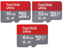 Sandisk 16GB 32GB 64GB Micro SD Ultra SD HC SDXC SD XC Class 10 100MB/s Adapter