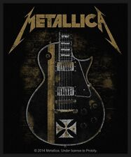 METALLICA - Patch Aufnäher - Hetfield guitar 8x10cm