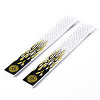 12pcs white & black arrow wraps for fletching carbon fiberglass arrowHC