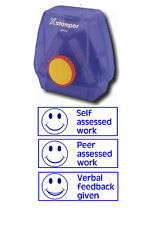 3-in-1 Teacher Reward Stamp - Self & Peer Assessed, Verbal Feedback Given
