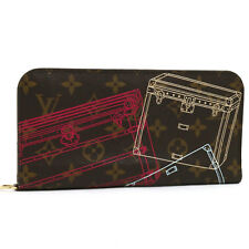 Louis Vuitton Monogram Portefeuille Insolite Long Wallet Trunk Print M58508 5997