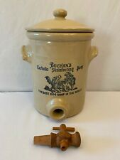 ANTIQUE VINTAGE BUCHAN'S CARBOLIC DISINFECTING DOG SOAP POTTERY STONEWARE RARE
