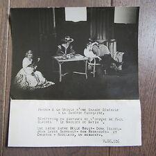 PHOTO DE PRESSE 1943 LA COMÉDIE FRANÇAISE SOULIER DE SATIN J.L BARRAULT M.SULLY