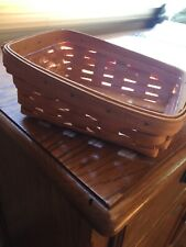 Longaberger Classic Note Pal Basket & Protector Set