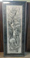 """Richard D Harris """"Of Mystic Descent"""" (272/650)Paper Print Framed & Signed"""