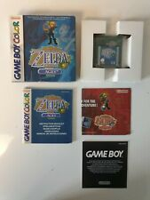NEW GAME BOY GAMEBOY COLOR GB BOXED BOITE LEGEND OF ZELDA ORACLE OF THE AGES EUR