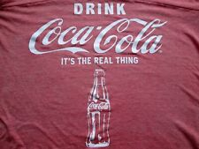 NEW COCA-COLA SHIRT VINTAGE SIZE WOMENS GIRLS XLARGE (15-17) TSHIRT WITH TAG_