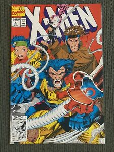X-MEN #4 FIRST APPEARANCE OF OMEGA RED JIM LEE (1992)