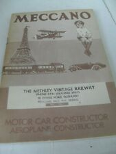 HORNBY/MECCANO REPRODUCTION TOY CATALOGUE 1933/34 UK EDITION NrEXCELLENT FOR AGE