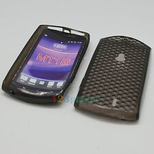 TPU SILICONE GEL BACK COVER CASE FOR SONY XPERIA NEO MT15i CHARCOAL