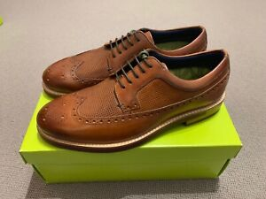 Ted Baker Men's Dylunn Brogues Shoes, Tan UK7 EU41 New With Box RRP £119