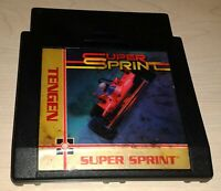Super Sprint Indy car racing Nintendo NES Vintage original retro game cartridge