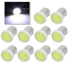 10x Super White BA9S COB Chip 2W LED Car License Plate Turn Signal Light Bulb