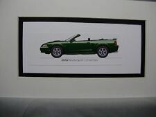 2002  Ford Mustang GT Convertible  From  50 Year Anniversary Exhibit by artist