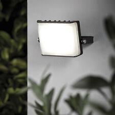 LED Wand Fassaden Strahler 12 Watt 800 Lumen Wandleuchte Weg Beleuchtung Schwarz