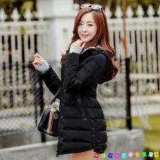 2017 Women Winter Coat Down cotton jacket hooded Long ladies coat parka outwear