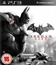 Batman: Arkham Asylum/ciudad DC PS3 juegos (Sony PlayStation 3) En Buen Estado