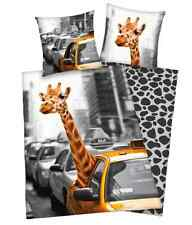 "HERDING Young Collection- Bettwäsche "" New York Safari"" 135 x 200/80 x 80 cm"