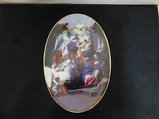 Trinity Broadcasting Newtwork Religious Plate Christmas 2004 Limited Edition