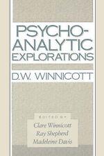 Very Good, Psycho-Analytic Explorations, Winnicott, Donald Woods, Book