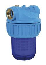 """Porte filtre à eau 5"""" avec cartouche lavable 50 microns - PRFIL5S3UV"""