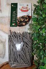 (6,00€/Kg)Nudeln Fileja Nero di Sepia 500g traditionell Italien Pasta Fiorillo