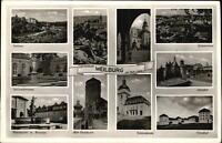 WEILBURG Lahn Hessen ~1960 alte s/w Mehrbild-AK ua. Windhof Kirche Schloss uvm.
