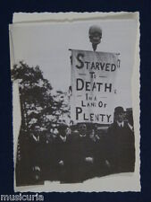 ah~ handmade greetings / birthday card STARVED TO DEATH IN A LAND OF PLENTY