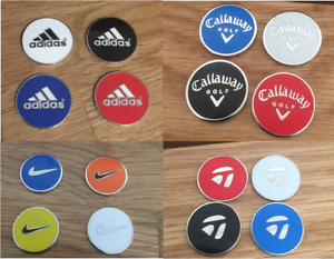 Magnetic Golf ball Marker - Assorted styles & colours
