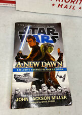 Star Wars: A New Dawn Exclusive Advance Reader's 1st Edition Book - Autographed