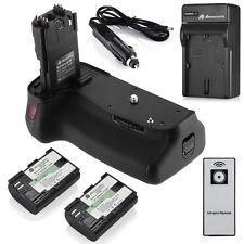 BG-E9 Battery Grip for Canon EOS 60D/60Da + 2 LP-E6 Battery + Charger +IR Remote