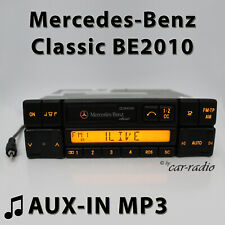 Mercedes Classic BE2010 MP3 aux-In Autoradio RDS Radio Cassette 1-DIN Aux Radio