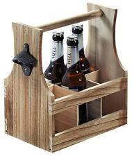 Bierflaschenträger mit Bieröffner Flaschenträger Bierträger Kronkorkenöffner NEU