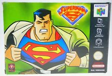 Superman 64-Complete in Original Box Nintendo 64 n64 Boxed CIB