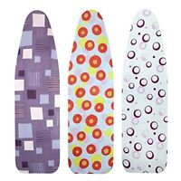 Metaltex Elastic Ironing Board Cover, fits boards up to 132 x 44 cm, Assorted co