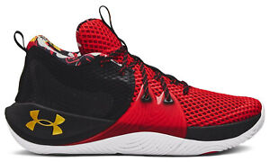 Under Armour UA Embiid One 1 Chinese Lunar New Year CNY Shoes Red Black NEW