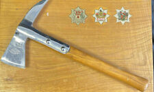 More details for vintage brades fire fighters axe original mounted west mids. northants (7502)