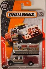 MATCHBOX #45 Ford F-550 Super Duty Fire Truck, 2018 issue (NEW in BLISTER)