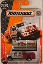 MATCHBOX #45 Ford F-550 Superduty Fire Truck, 2018 issue (NEW in BLISTER)